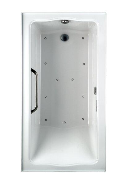 Clayton Tile 60 x 32 Air Bathtub by Toto