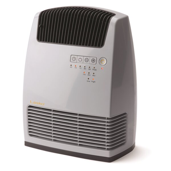 Lasko 1,500 Watt Electronic Ceramic Heater with Warm Air Motion Technology by Lasko