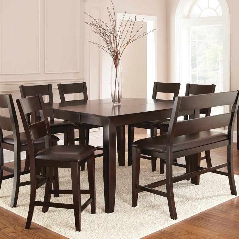 Superbe Wynwood 8 Piece Counter Height Dining Set