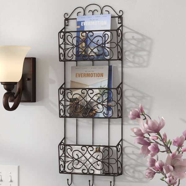 Bishop Charm Triple Wall Rack by Fleur De Lis Living