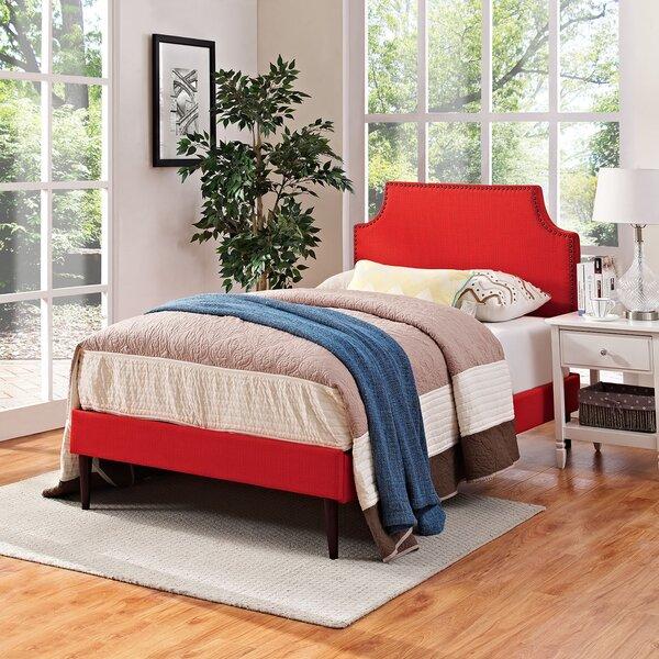 Preciado Upholstered Platform Bed by Wrought Studio
