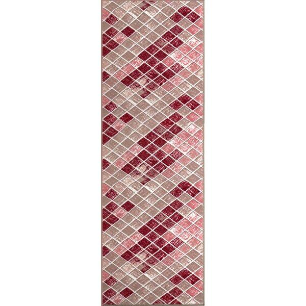Tibbetts Print Absorbent Soft Kitchen Mat