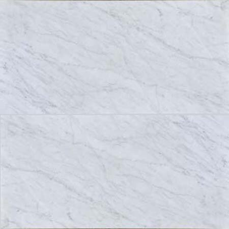 Carrara 12 x 24 Polished Marble Field Tile in White by The Bella Collection