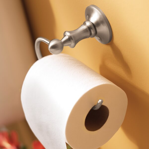 Danbury Wall Mounted Toilet Paper Holder by Moen