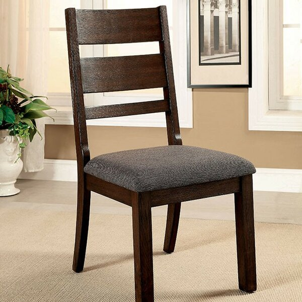 Zapata Upholstered Dining Chair (Set of 2) by Loon Peak