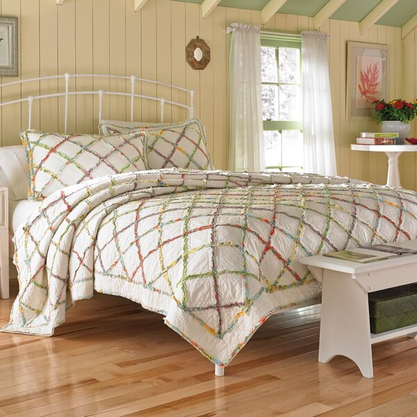 Ruffled Garden Quilt Collection by Laura Ashley Home by Laura Ashley Home