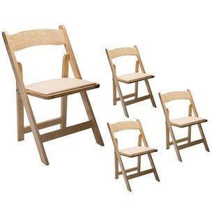 Padded Wood Folding Chairs Youu0027ll Love | Wayfair
