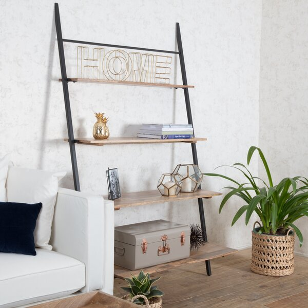 Nickerson Shelf Ladder Bookcase by Union Rustic