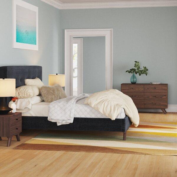 Ross Platform Solid Wood 4 Piece Bedroom Set by Foundstone