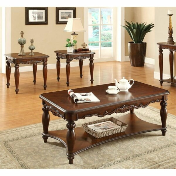 Zeno 3 Piece Coffee Table Set By Astoria Grand