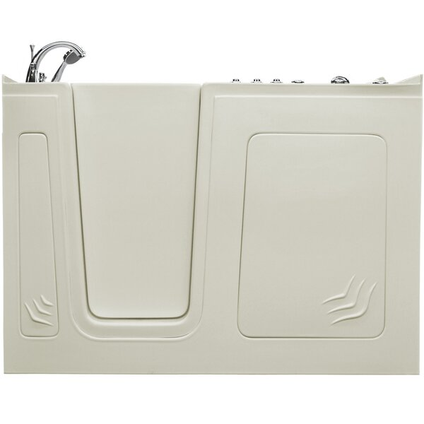 Aspen 60 x 32 Walk-In Air and Whirlpool Jetted Bathtub by Therapeutic Tubs