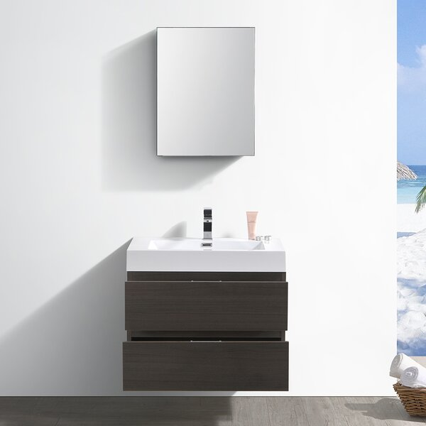 Senza Valencia 30 Single Bathroom Vanity Set by Fresca