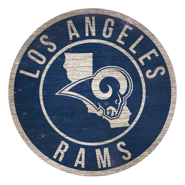 NFL Graphic Art Print on Wood by Fan Creations