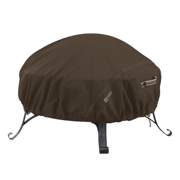 Madrona Rainproof Square Fire Pit Cover by Classic Accessories