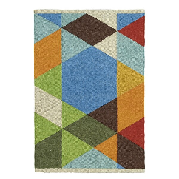Make A Point Handmade Green/Blue/Red Indoor/Outdoor Area Rug By CompanyC