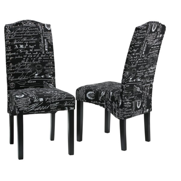 Fletcher Upholstered Dining Chair (Set of 2) by Cortesi Home