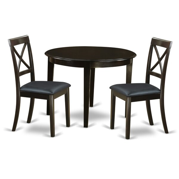 Hillhouse 3 Piece Dining Set By Red Barrel Studio