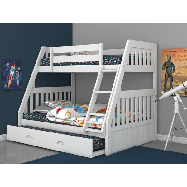 Giuliano Twin over Full Bunk Bed with Trundle by Birch Lane™ Heritage