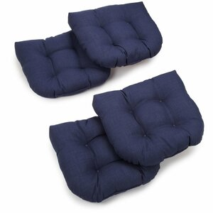 Outdoor Chair/Rocker Cushion (Set of 4)