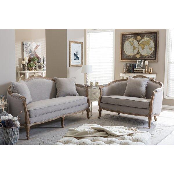 Celine 2 Piece Living Room Set by Beachcrest Home