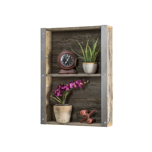 Industrial Reclaimed Wall Shelf by Del Hutson Desi