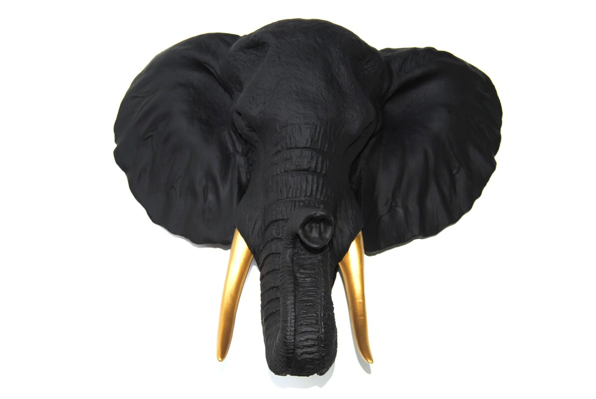 Kids faux taxidermy youll love wayfair faux taxidermy elephant wall dcor amipublicfo Gallery
