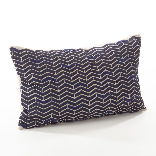 Marcella Cotton Throw Pillow by Saro