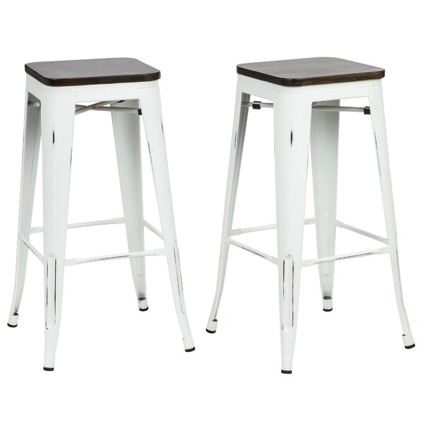 Becerra 30 Bar Stool (Set of 2) by Williston Forge