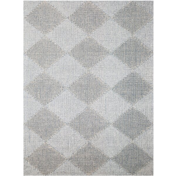 Cargan Hand-Tufted Gray Area Rug by Gracie Oaks