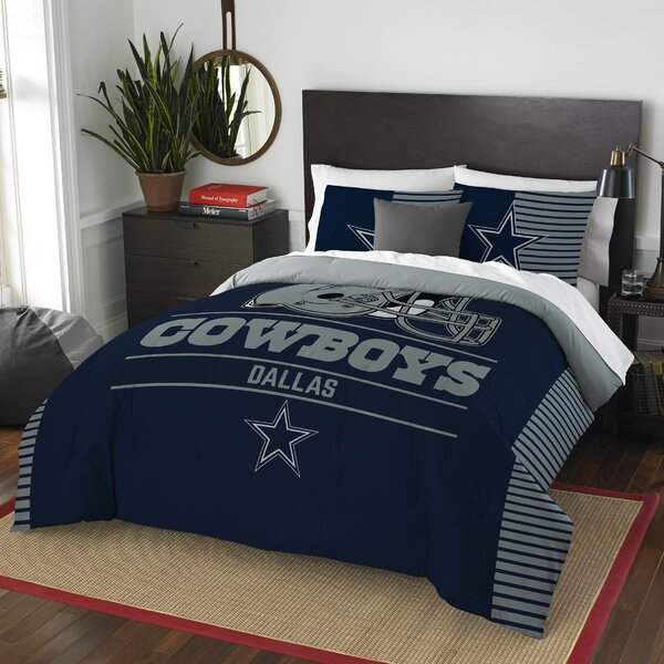 NFL Draft 3 Piece Full/Queen Comforter Set by Nort