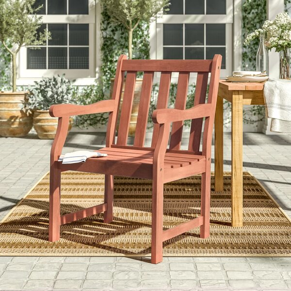 Amabel Patio Dining Chair by Beachcrest Home