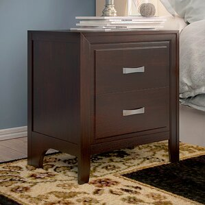 Barwood 2 Drawer Nightstand by Simmons Casegoods by Alcott Hill