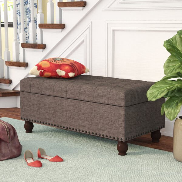 Gourley Fabric Storage Bench by Three Posts