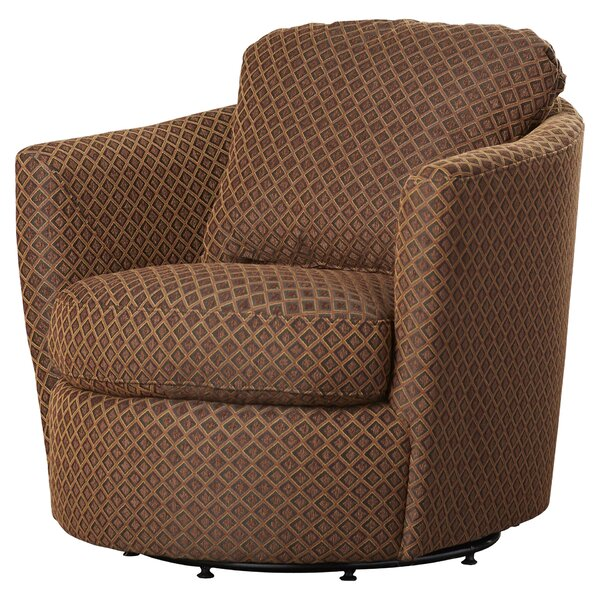 Vidrio Swivel Barrel Chair By Red Barrel Studio