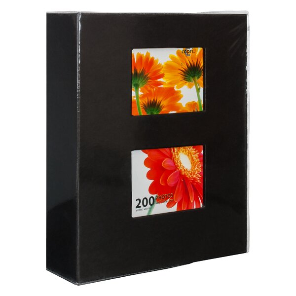 Black Photo Album (Set of 6) by Red Barrel Studio