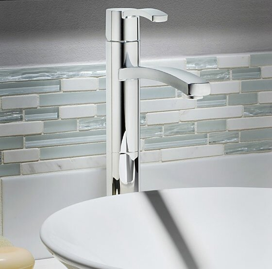 Berwick Single Hole Vessel Faucet with Optional Pop-Up Drain Assembly by American Standard
