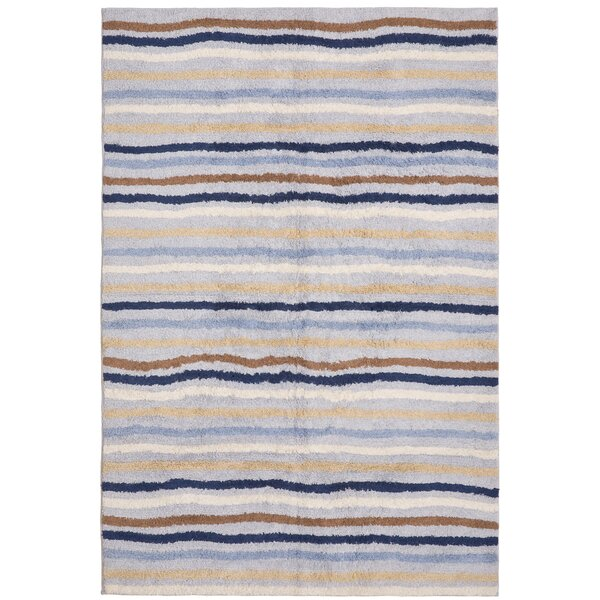 Carousel Blue Ziggy Area Rug by St. Croix