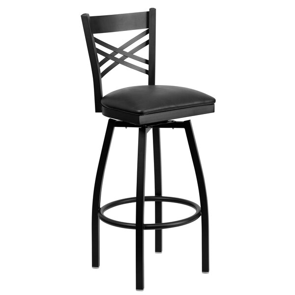 32 Swivel Bar Stool by Offex32 Swivel Bar Stool by Offex