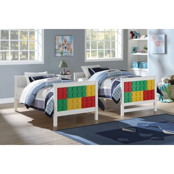 Pontius Lego Design Twin over Twin Bunk Bed by Zoomie Kids