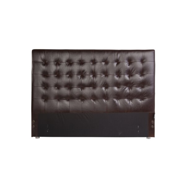 Venetian Upholstered Panel Headboard by Canora Grey