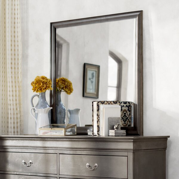 Lisle Square Dresser Mirror by Lark Manor