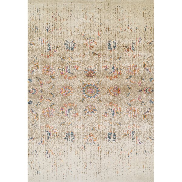 Forsythia Ivory Area Rug by Bungalow Rose