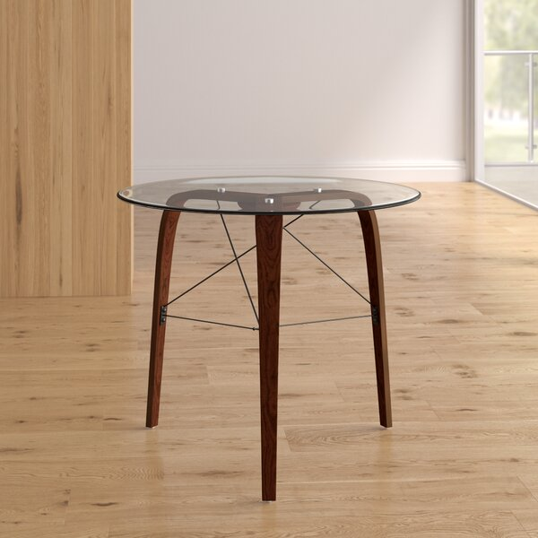 Modern Evelina Round Dining Table By Langley Street Design