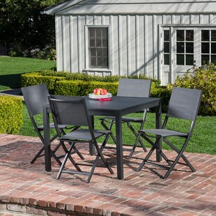 Liang 5 Piece Dining Set By Latitude Run