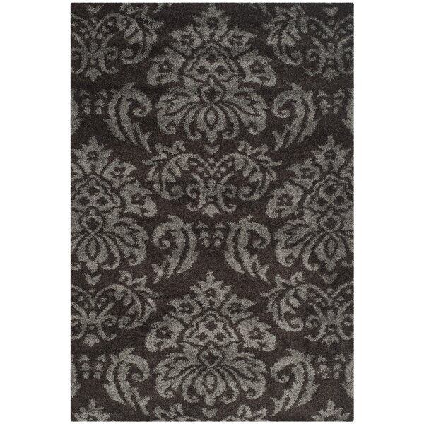 Gustav Dark Smoke Area Rug by Willa Arlo Interiors