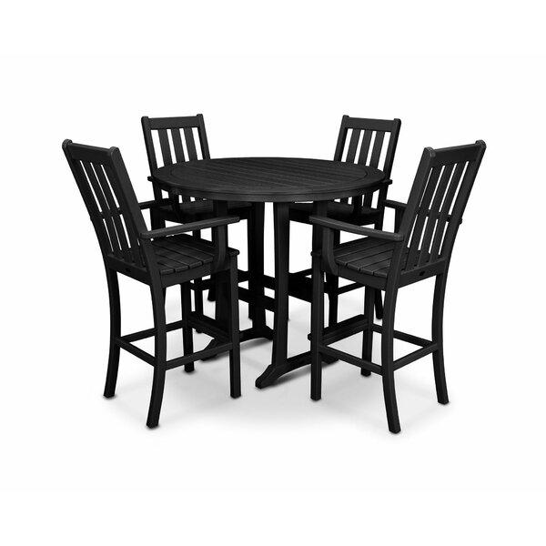 Vineyard 5 Piece Bar Height Dining Set by POLYWOOD®
