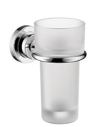 Axor Citterio Tumbler and Tumbler Holder by Axor