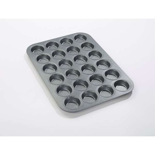24 Cup Non-Stick Mini Muffin Everyday Muffin Pan by Chicago Metallic