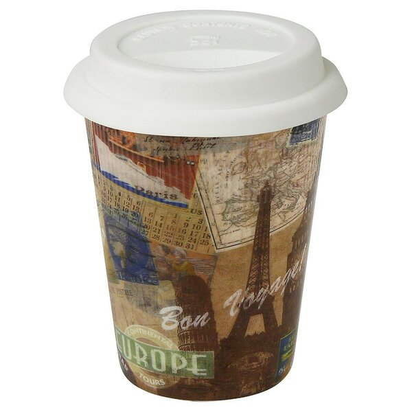 Travel Bon Voyage! Mug (Set of 2) by Konitz