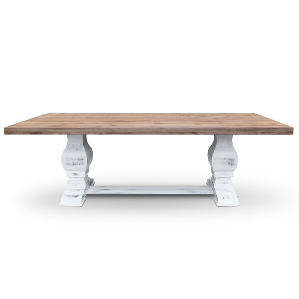 Dulcie Solid Wood Dining Table by One Allium Way One Allium Way